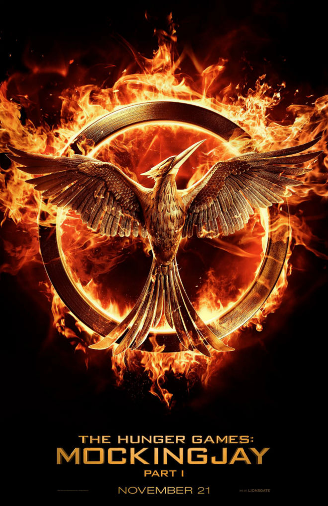 hunger games mockingjay part 1 poster